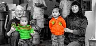 Uighur Family Portrait