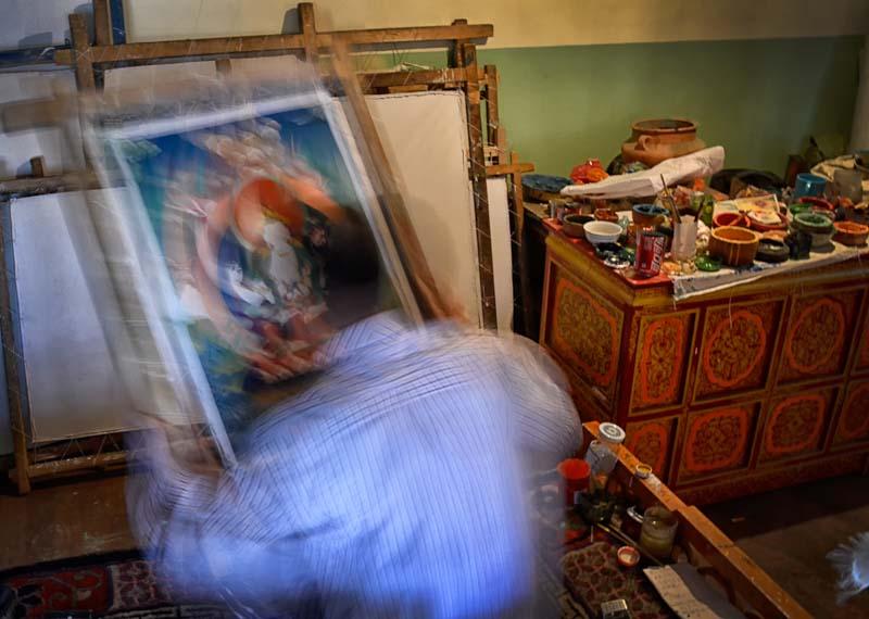 Tangka Painter