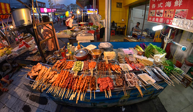 Outdoor Food Festival Taiwan