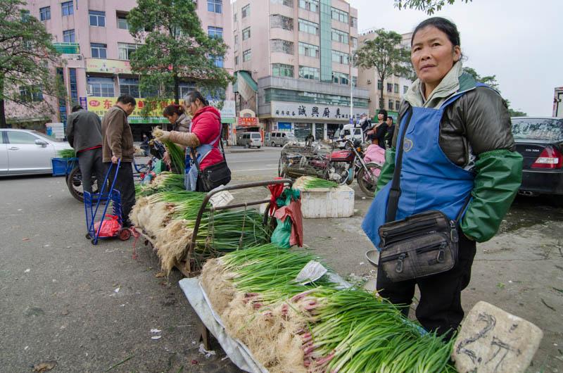 Selling Greem Onions
