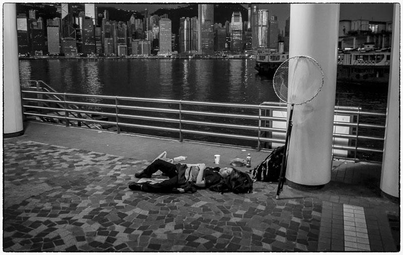 Disinterested Fisherwoman