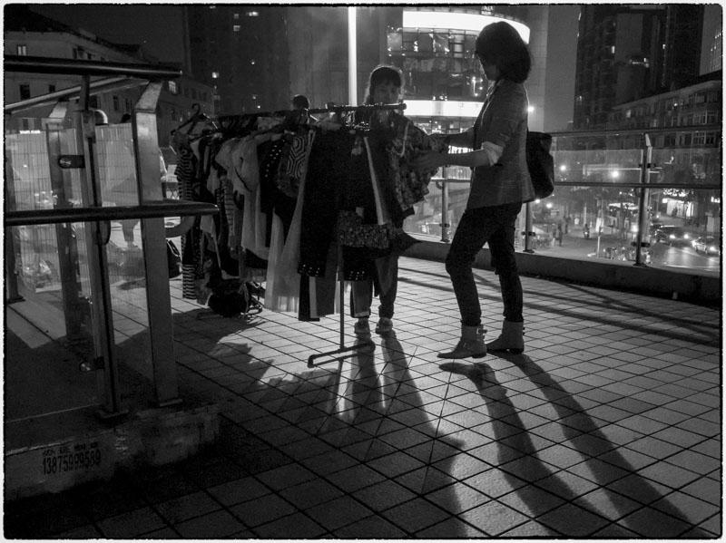 Sidewalk Shopping