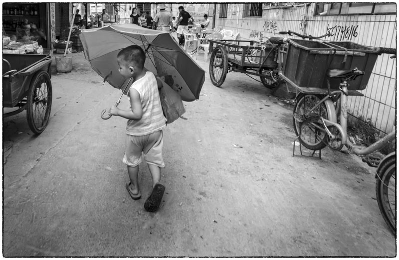 Umbrella Boy II