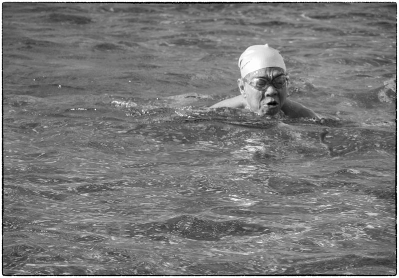 Japanese Swimmer in China