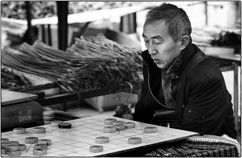 Mahjong Vegetable Seller