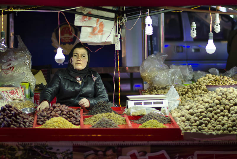 Nuts at the Night Market