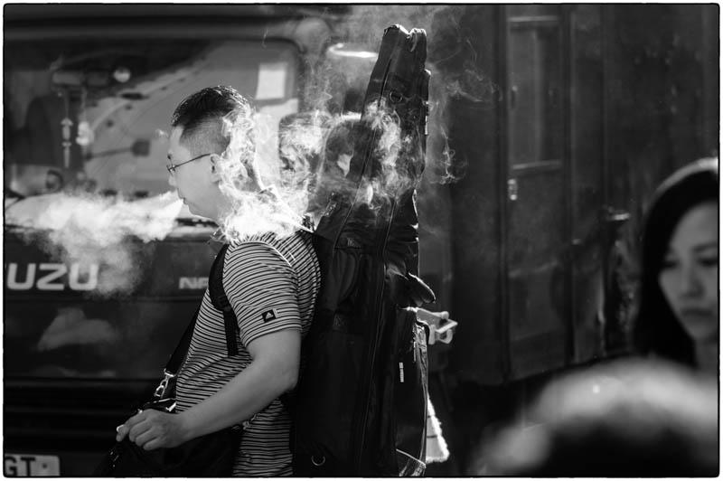 Smoking Guitarist