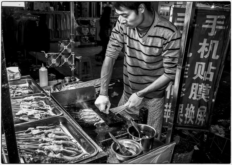 Making Squid on a Stick