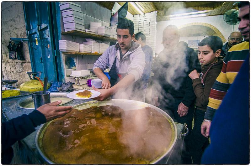 Nablus-Kanafeh Shop