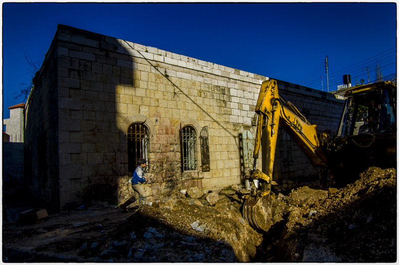 Ramallah-Construction
