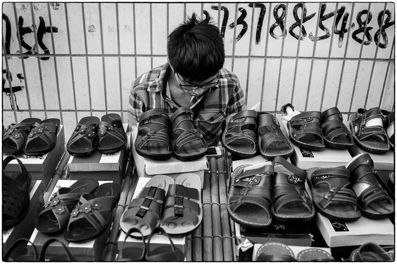 Sandals Sales Guy