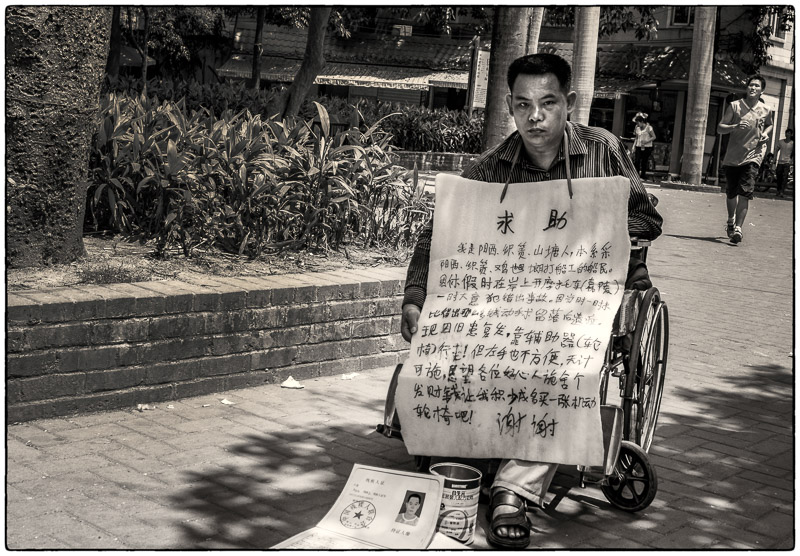 Wheelchair Plea