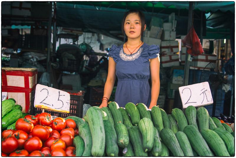 Cucumber Lady