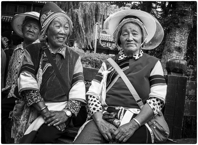 Native Lijiang Ladies