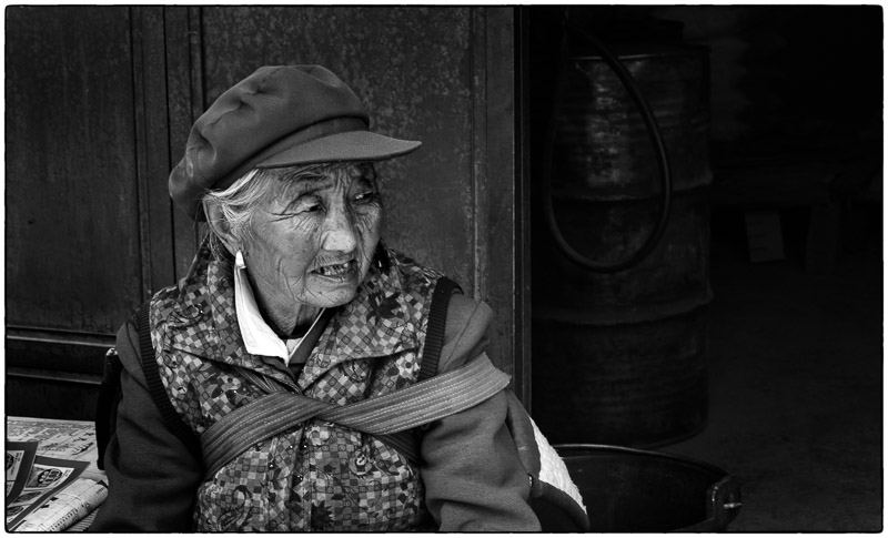 Very Old Lijiang Lady