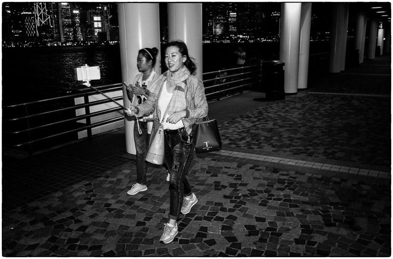 HK Selfie Lady