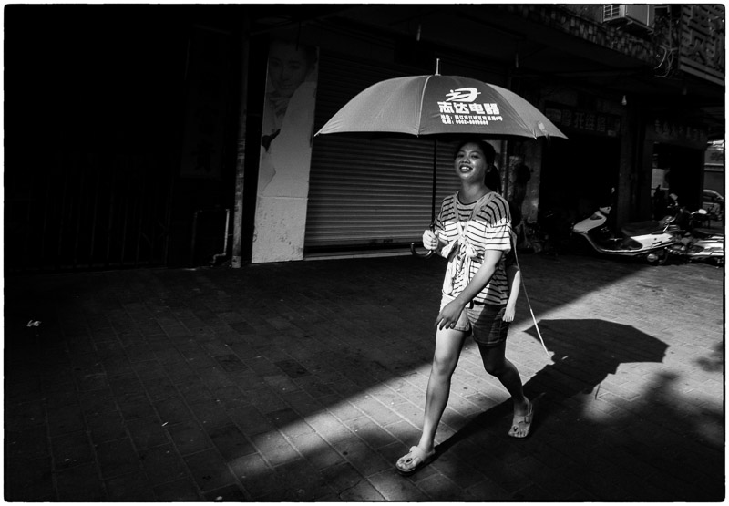 Umbrella Lady