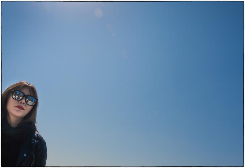 Blue Sky Photo Bomb