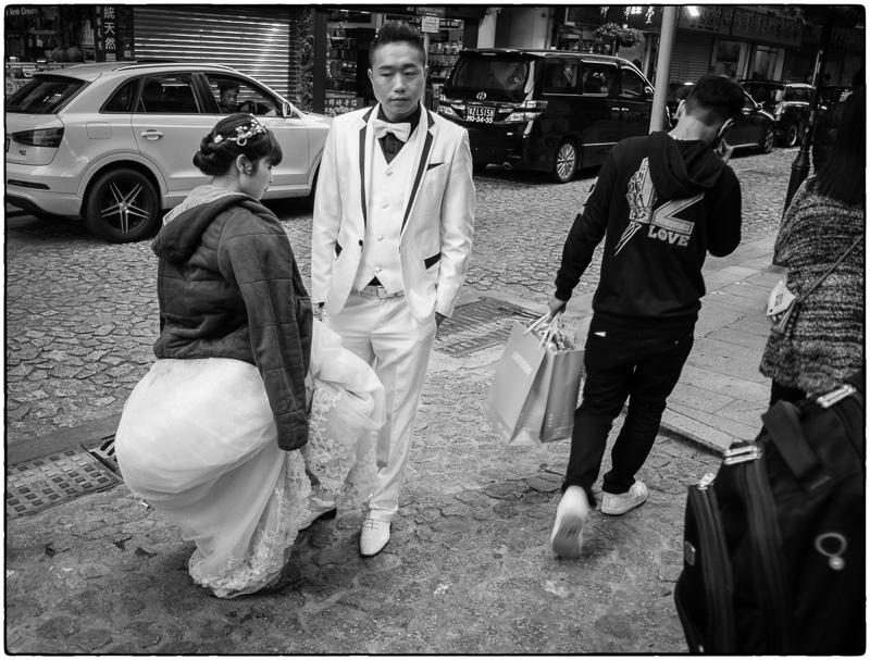 Macau Bride and Groom