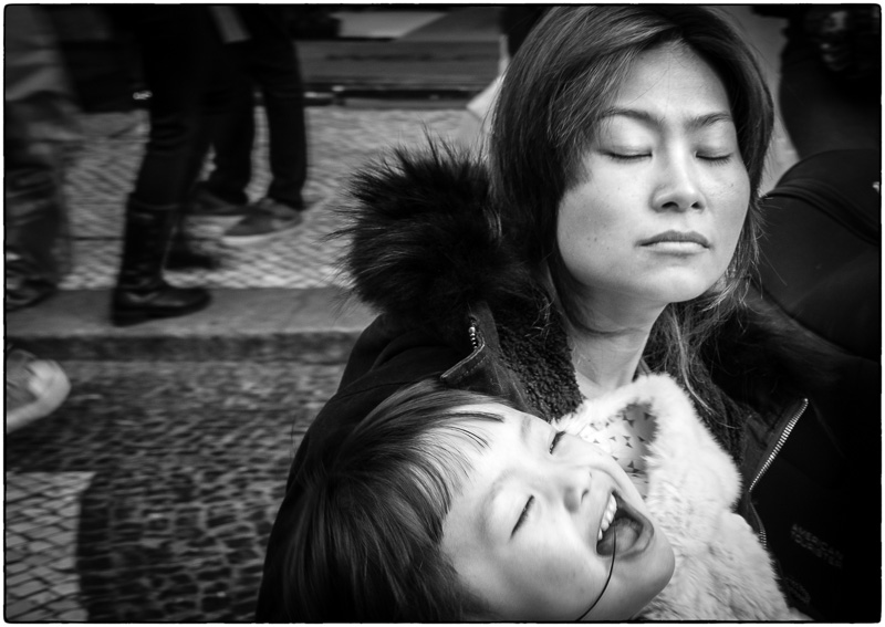 Macau Mother and Daughter
