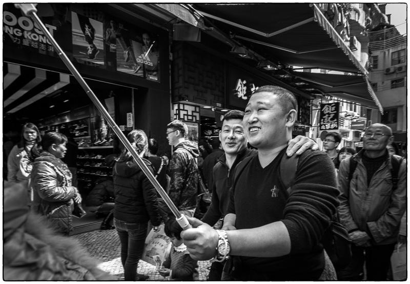 Macau Selfie Guy
