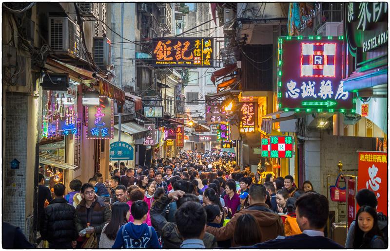 Macau during CNY