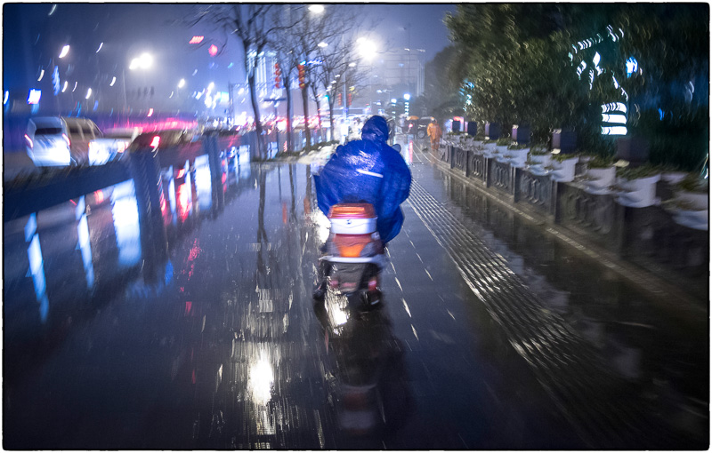 Ningbo in the Rain2