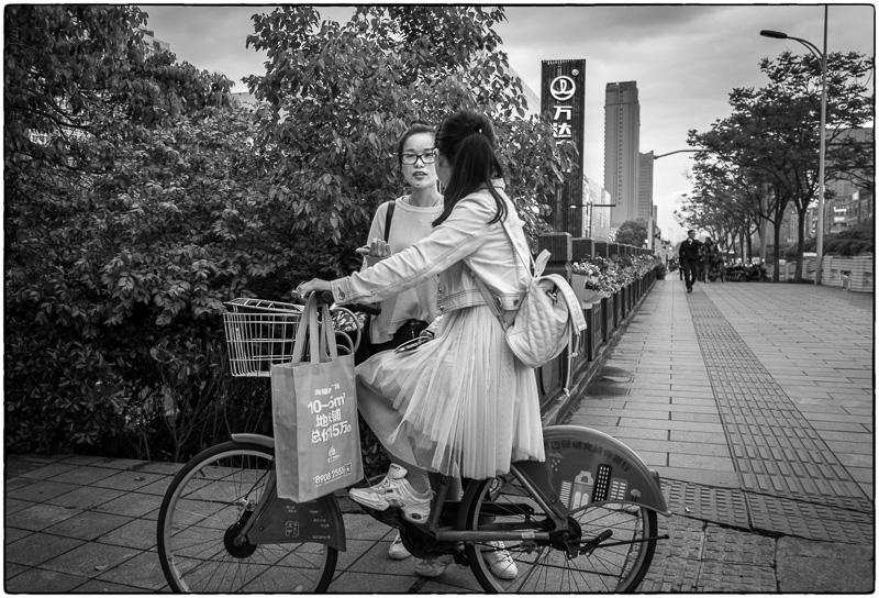 Ningbo Sidewalk Chat