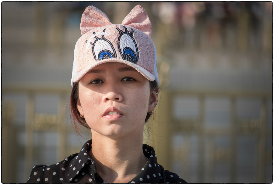 Beijing Hat Lady