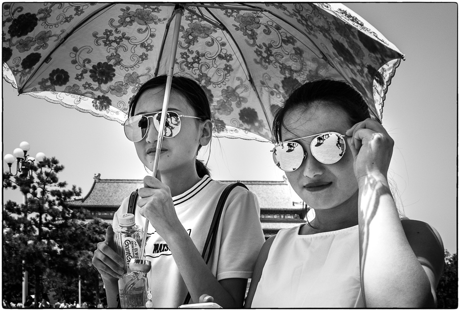 Beijing Sunglass Girls