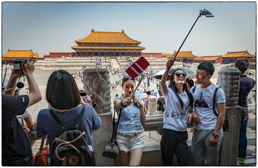 Forbidden City Selfies