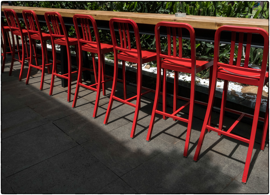 SK Red Stools