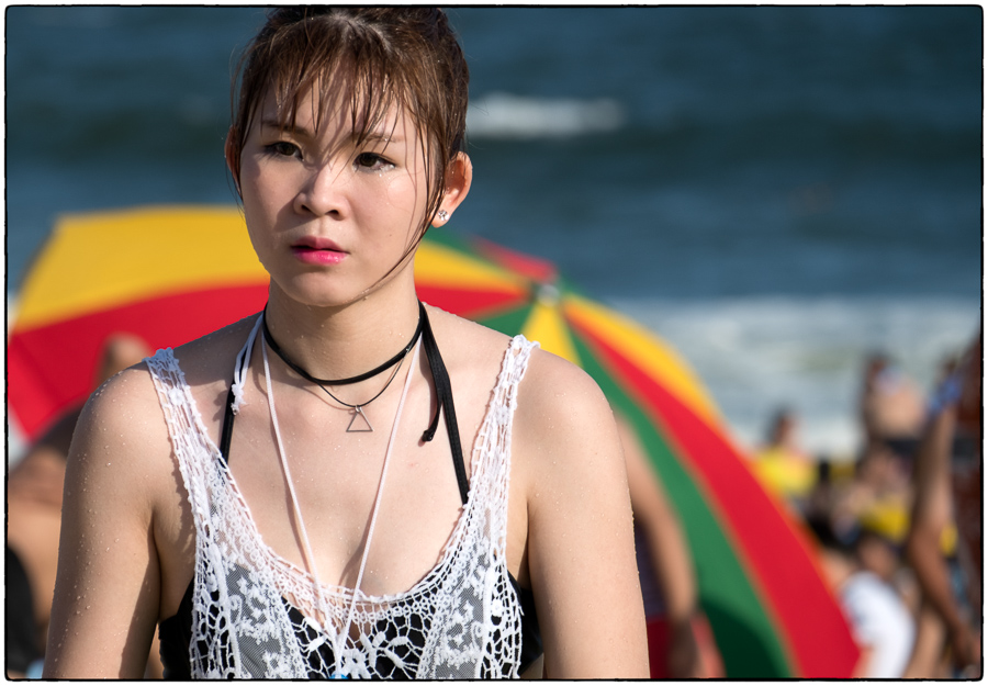 Zhapo Beach Lady